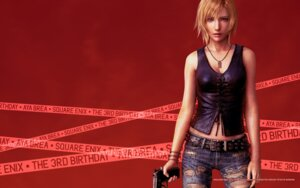 Rating: Safe Score: 20 Tags: aya_brea cg cleavage gun parasite_eve square_enix the_3rd_birthday torn_clothes wallpaper User: Devard