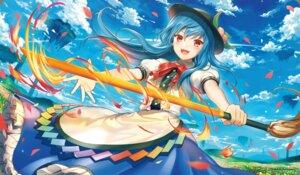 Rating: Safe Score: 39 Tags: hinanawi_tenshi kikugetsu sword touhou User: nphuongsun93