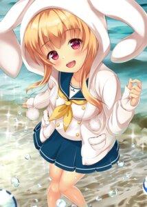 Rating: Questionable Score: 37 Tags: battle_girl_high_school seifuku watagi_michelle yuririn_poi User: sym455