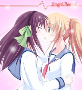Rating: Safe Score: 30 Tags: angel_beats! okome_(minagisama) seifuku yuri yurippe yusa User: Radioactive