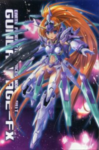 Rating: Questionable Score: 27 Tags: fixme gap gun gundam gundam_age gundam_age-fx komatsu_e-ji mecha mecha_musume stockings thighhighs User: fireattack