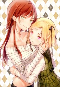 Rating: Safe Score: 37 Tags: dress dsmile possible_duplicate tsundere_is_love yuri User: charunetra