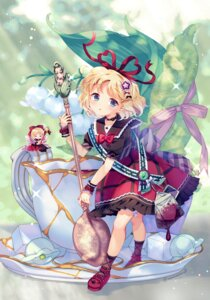 Rating: Safe Score: 15 Tags: amo fairy garter medicine_melancholy touhou wings User: Mr_GT