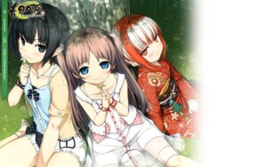 Rating: Safe Score: 25 Tags: arishima_alice cura lose monobeno sawai_natsuha sumi_(monobeno) wallpaper User: h71337