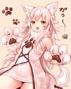 Rating: Safe Score: 39 Tags: animal_ears sukemyon tail User: BattlequeenYume