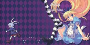 Rating: Safe Score: 21 Tags: alice alice_in_wonderland cheshire_cat crease dress ice_&_choco kokonobi nanao_naru thighhighs User: midzki