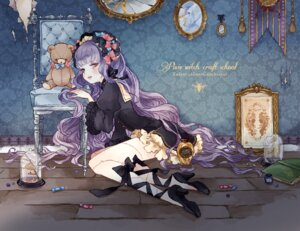 Rating: Safe Score: 25 Tags: dress gothic_lolita heels ichiko_(vein) lolita_fashion thighhighs User: Radioactive