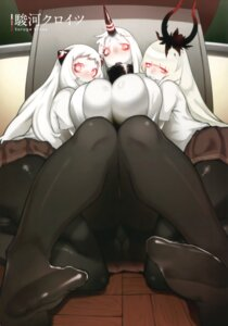 Rating: Questionable Score: 33 Tags: feet horns kantai_collection no_bra pantsu pantyhose suruga_kreuz User: Twinsenzw