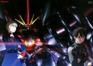 Rating: Safe Score: 19 Tags: aldnoah.zero kaizuka_inaho kogure_masahiro male mecha slaine_troyard User: drop