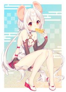 Rating: Safe Score: 42 Tags: animal_ears chinadress cleavage heels no_bra shizuku_(s1zu9) tagme User: Mr_GT