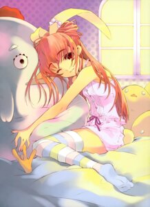 Rating: Safe Score: 37 Tags: animal_ears bunny_ears bunny_girl ito_noizi pajama thighhighs User: Share