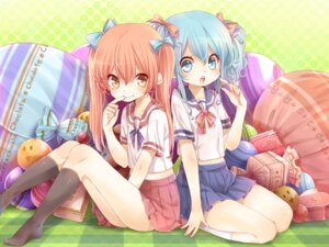 Rating: Safe Score: 37 Tags: aihara_kaori momo_bako rojiko seifuku wallpaper User: Radioactive