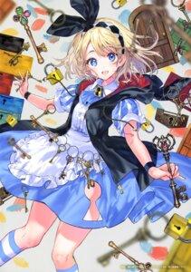 Rating: Safe Score: 38 Tags: dress hanekoto skirt_lift User: drop