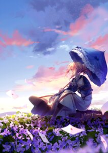 Rating: Safe Score: 26 Tags: dress lluluchwan mecha_musume umbrella violet_evergarden violet_evergarden_(character) User: BattlequeenYume