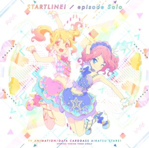 Rating: Safe Score: 3 Tags: aikatsu_stars! disc_cover dress heels nijino_yume sakuraba_rola User: blooregardo