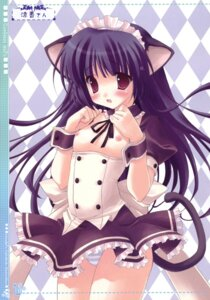 Rating: Questionable Score: 36 Tags: animal_ears breasts lolita_fashion nekomimi nipples pantsu ryohka shimapan User: bunnygirl