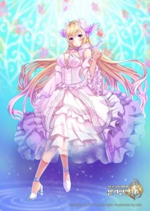 Rating: Questionable Score: 35 Tags: cleavage dress juke kaku-san-sei_million_arthur User: KazukiNanako