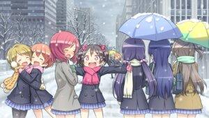 Rating: Safe Score: 43 Tags: ayase_eli hoshizora_rin koizumi_hanayo kousaka_honoka kuinji_51go love_live! minami_kotori nishikino_maki pantyhose seifuku sonoda_umi toujou_nozomi umbrella yazawa_nico User: Mr_GT