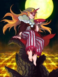 Rating: Safe Score: 4 Tags: hoshiguma_yuugi momiji touhou User: Mr_GT
