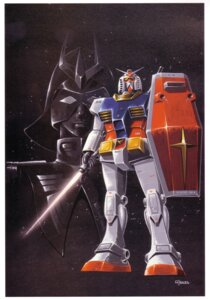 Rating: Safe Score: 1 Tags: char_aznable gundam mecha mobile_suit_gundam okawara_kunio rx-78-2_gundam User: Radioactive
