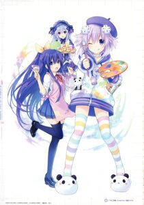Rating: Questionable Score: 30 Tags: choujigen_game_neptune crossover date_a_live fairy_fencer_f neptune tiara_(fairy_fencer_f) tsunako yatogami_tooka User: Radioactive
