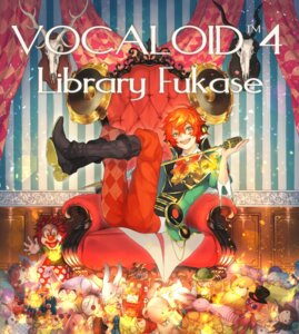 Rating: Safe Score: 7 Tags: dearrose fukase headphones male vocaloid User: charunetra