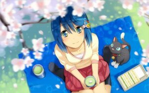 Rating: Safe Score: 48 Tags: madobe_nanami microsoft neko os-tan wakaba wallpaper User: Amperrior