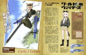 Rating: Questionable Score: 10 Tags: animal_ears carla_j_luksic gun shimada_humikane strike_witches tail uniform User: drop