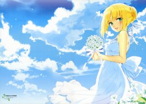 Rating: Safe Score: 30 Tags: dress fate/stay_night hanabana_tsubomi saber type-moon User: drop