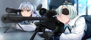Rating: Safe Score: 18 Tags: eyepatch front_wing game_cg grisaia_phantom_trigger gun kumashiro_megumi seifuku shishigaya_touka watanabe_akio User: Radioactive
