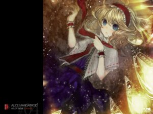 Rating: Safe Score: 11 Tags: alice_margatroid duca touhou wallpaper User: Radioactive
