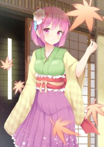 Rating: Safe Score: 48 Tags: aibumi hieda_no_akyuu japanese_clothes touhou User: Mr_GT