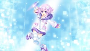 Rating: Safe Score: 35 Tags: choujigen_game_neptune compile_heart neptune thighhighs tsunako User: Kaput