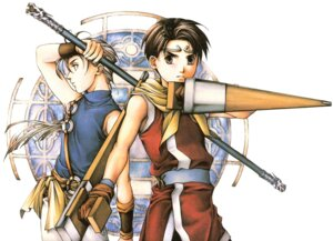 Rating: Safe Score: 3 Tags: ishikawa_fumi japanese_clothes jowy_atreides male riou_genkaku suikoden suikoden_ii User: Radioactive