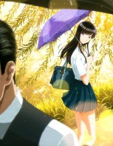 Rating: Safe Score: 23 Tags: koi_wa_ameagari_no_you_ni seifuku tachibana_akira umbrella User: drop