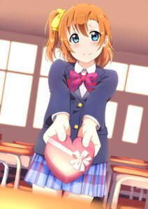 Rating: Safe Score: 22 Tags: kousaka_honoka love_live! seifuku shiokazunoko valentine User: charunetra