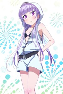 Rating: Safe Score: 53 Tags: bikini_top cleavage makicha new_game! open_shirt suzukaze_aoba User: 김도엽