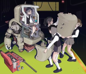 Rating: Safe Score: 20 Tags: mecha seifuku sukabu User: Anemone