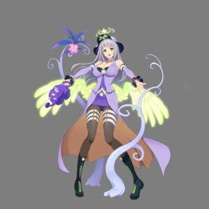 Rating: Safe Score: 11 Tags: angel_lock_feel_girl's_emotion cleavage dress garter heels pantyhose tagme transparent_png wings User: saemonnokami