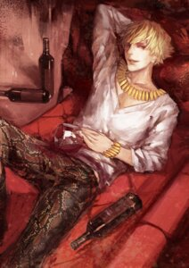 Rating: Safe Score: 5 Tags: fate/stay_night fate/zero gilgamesh_(fsn) male missingcat318 User: Radioactive