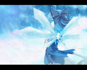 Rating: Safe Score: 8 Tags: auer cirno touhou wings User: Radioactive