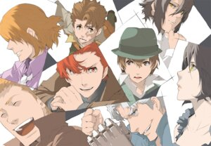 Rating: Safe Score: 9 Tags: baccano! chane_laforet claire_stanfield elmer_albatross enami_katsumi fermet firo_prochainezo huey_laforet jacuzzi_splot ladd_russo User: Radioactive