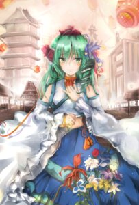 Rating: Safe Score: 22 Tags: kochiya_sanae miko radical touhou User: missblack