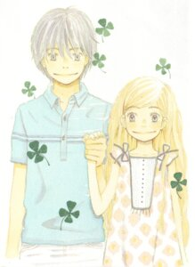 Rating: Safe Score: 2 Tags: hanamoto_hagumi honey_and_clover takemoto_yuuta umino_chica User: pandk2