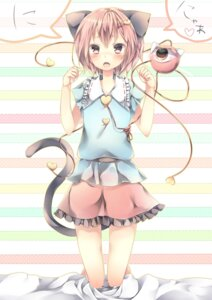 Rating: Safe Score: 35 Tags: animal_ears komeiji_satori komeshiro_kasu tail touhou User: Hentar