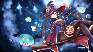 Rating: Questionable Score: 17 Tags: genshin_impact halloween incro300 leotard mona_(genshin_impact) pantyhose wallpaper witch User: Mr_GT