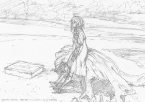 Rating: Safe Score: 6 Tags: monochrome sketch violet_evergarden violet_evergarden_(character) User: tuyenoaminhnhan