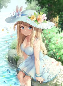 Rating: Safe Score: 110 Tags: cleavage dress girls_frontline runamochi wet User: Mr_GT