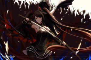 Rating: Safe Score: 35 Tags: dress pantyhose pixiv_fantasia pixiv_fantasia_revenge_of_the_darkness sword xing_muhen User: Mr_GT