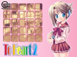 Rating: Safe Score: 2 Tags: ishihara_masumi komaki_manaka seifuku to_heart_2 to_heart_(series) wallpaper User: Tekrelious